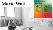 CANCELED - Visiting Artist Marie Watt Sewing Circle