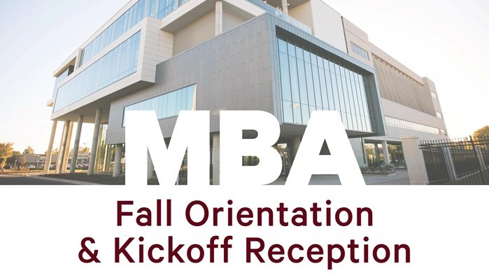 MBA Orientation and Kick-off Reception