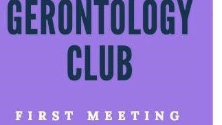 Gerontology Club Meeting