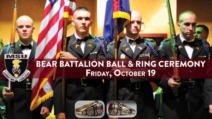 Homecoming: Bear Battalion Ball & Ring Ceremony