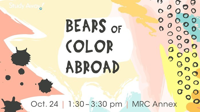 Bears of Color Abroad
