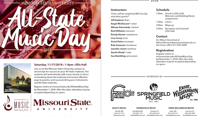 MSU All-State Music Day