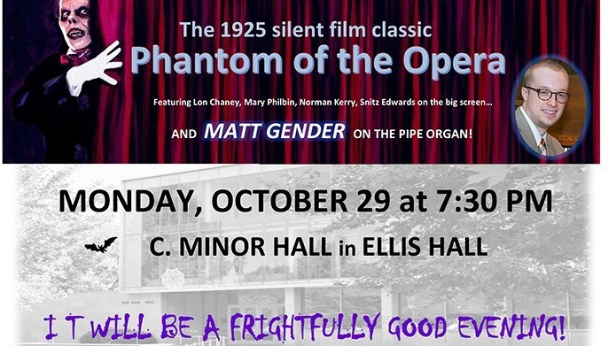 The Phantom of the Opera (Classic Film + Live Organ)