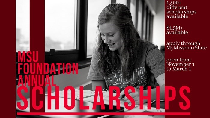 Application for Donor-Funded Scholarships Now Available