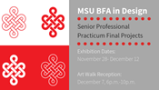 BFA Design Practicum Exhibition