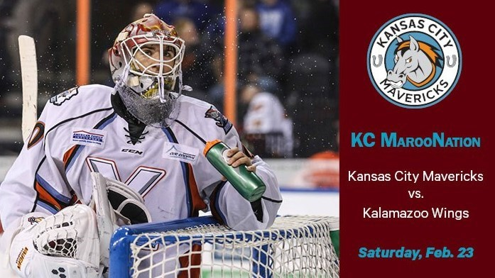 KC MarooNation – Kansas City Mavericks vs. Kalamazoo Wings