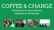 Bear Breaks Coffee and Change