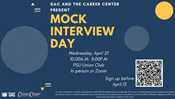Mock Interview Day (Virtual and In-Person)