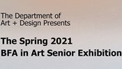 Spring 2021 BFA in Art Senior Exhibition