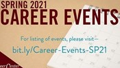 Spring 2021 Career Fairs Week: Feb. 9-12