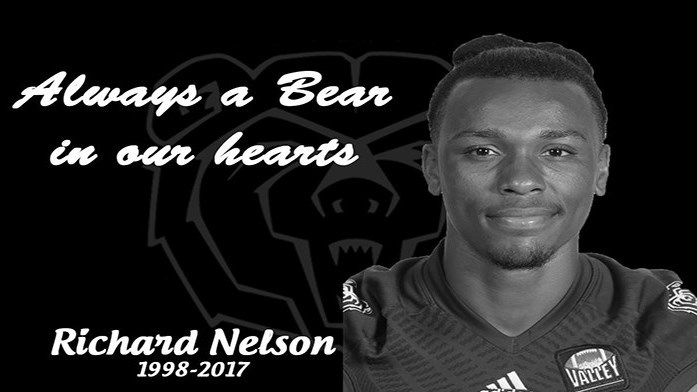 Memorial Service for MSU Football Player Richard Nelson