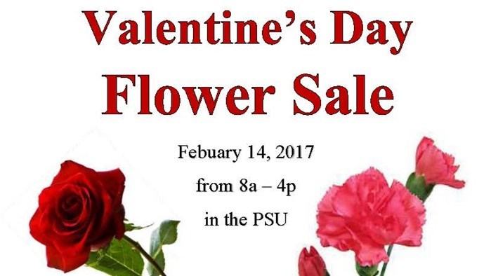 Valentine's Day Flower Sale