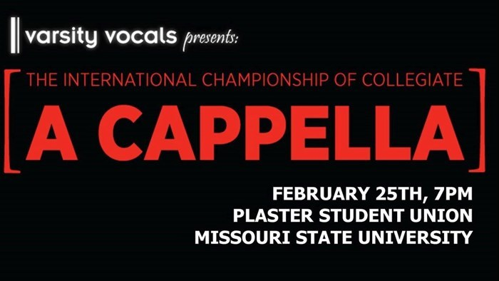 International Championship of Collegiate A Cappella: Midwest Quarterfinal Tournament