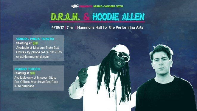 SAC Presents: DRAM and Hoodie Allen