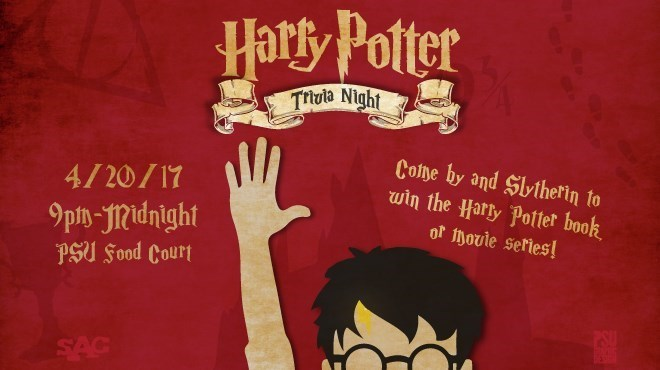SAC Presents: Harry Potter Trivia