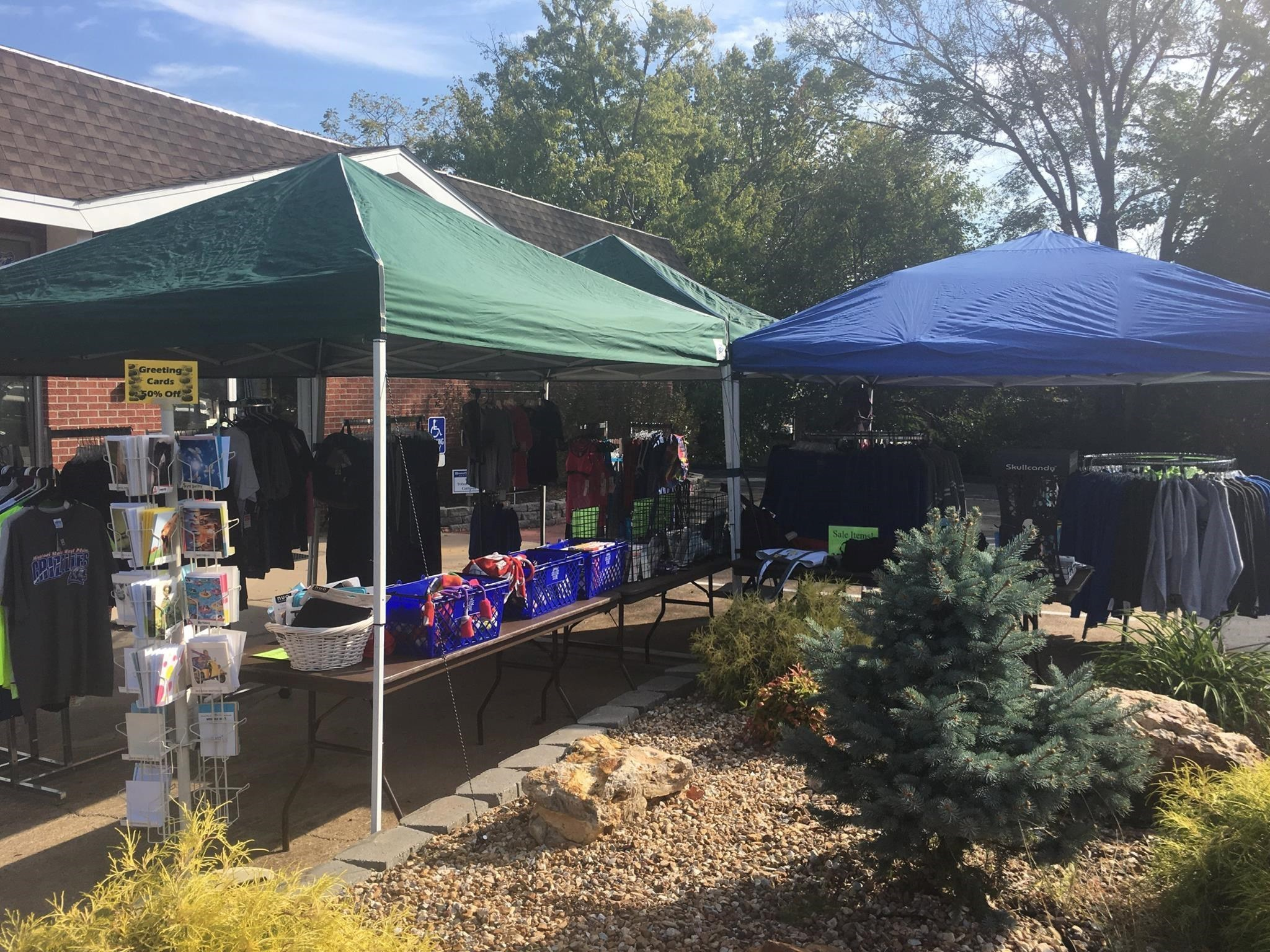 Drago College Store Spring Tent Sale