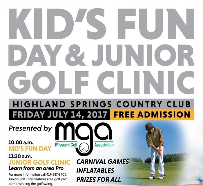 Kids Fun Day & Junior Golf Clinic presented by Missouri Golf Association