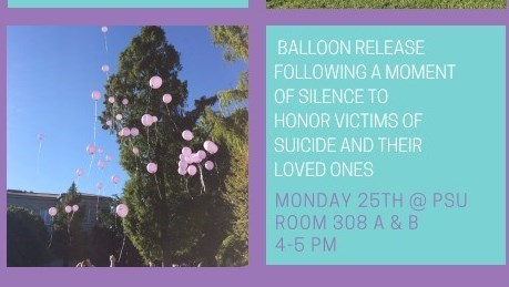 Psychology Club Presents: Suicide Awareness Event