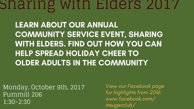 Gerontology Club: Sharing with Elders