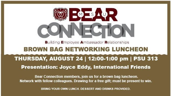 Bear Connection Brown Bag Luncheon