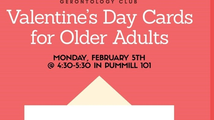 Gerontology Club: Valentine's Day Cards for Older Adults