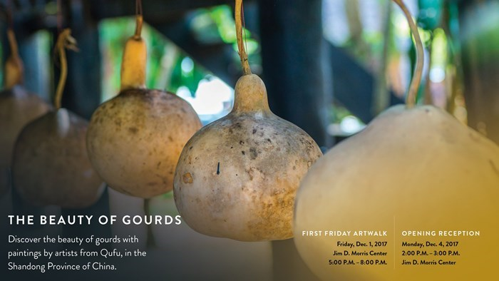 The Beauty of Gourds First Friday ArtWalk