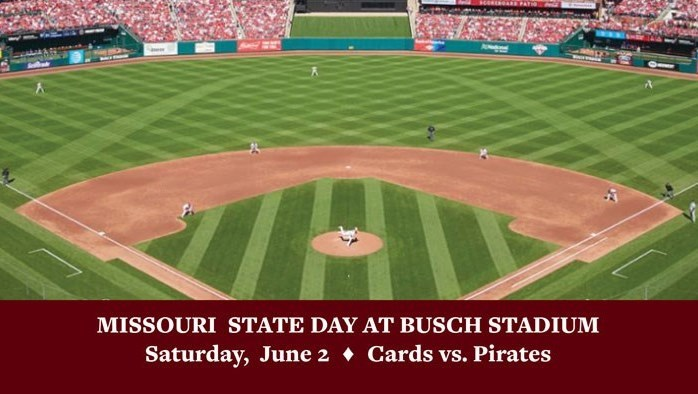 Missouri State Day at Busch Stadium: June 2018