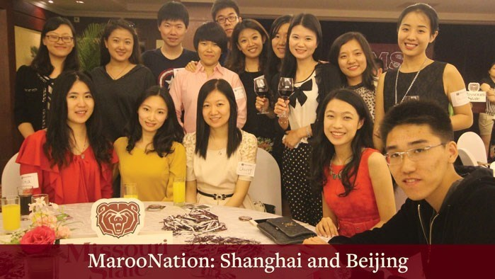 Alumni receptions in China - May 2018