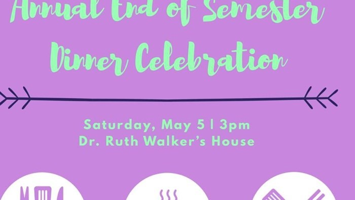 Gerontology Club Presents: Annual End of Semester Dinner Celebration