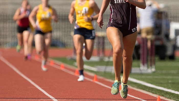 Missouri State University Women's Track at Arkansas Qualifier