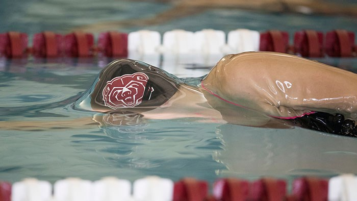 Missouri State University Swimming and Diving at Missouri Show-Me Showdown