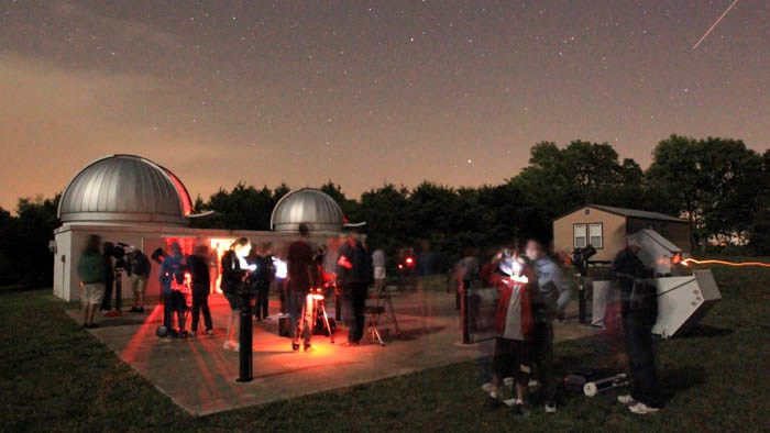 NASA Public Observing Night at Baker Observatory