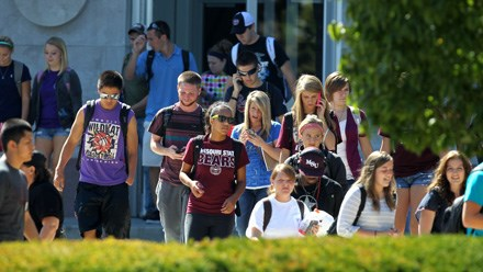 Missouri State opening day enrollment up