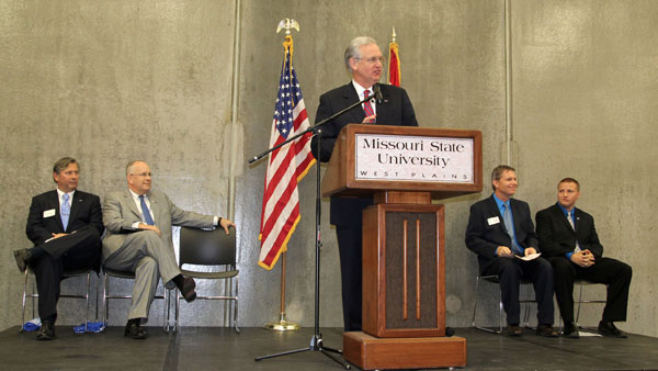 Governor Nixon: Missouri State-West Plains 'a campus of opportunity'
