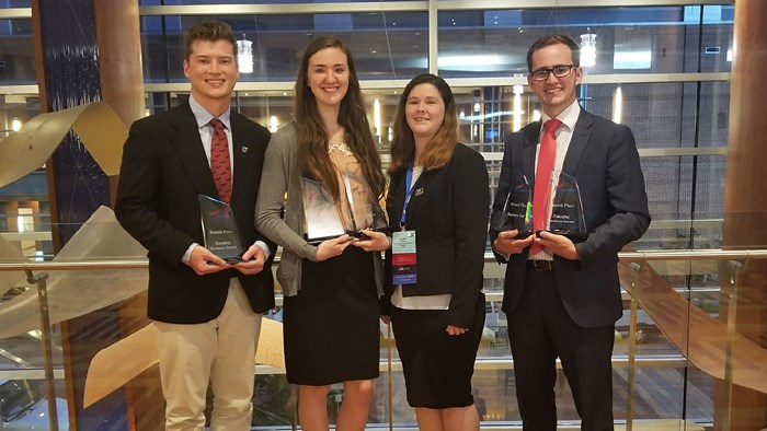 Alums and students win PBL awards