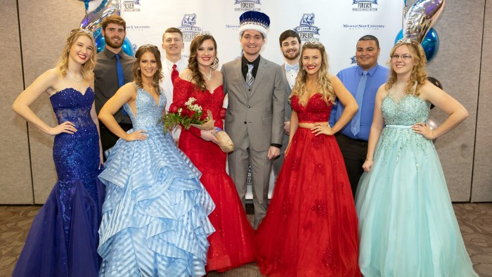 2019 Grizzly Homecoming Court recognized